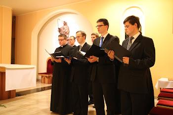 Wspomnienie św. Cecylii - koncert scholi