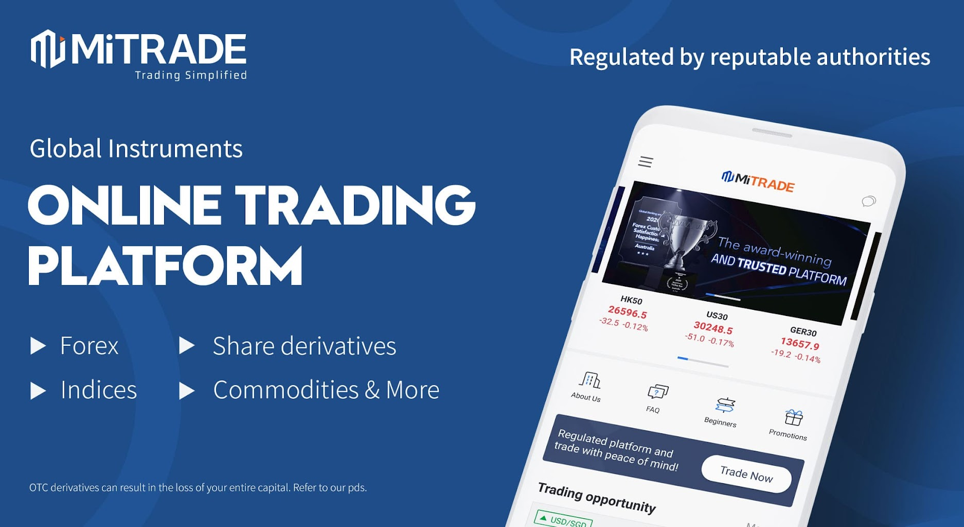 platform trading emas dan forex online Mitrade