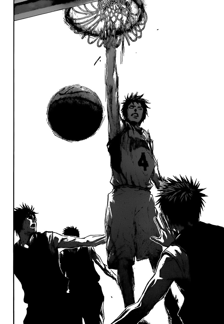 Kuroko no Basket Manga Chapter 245 - Image 16