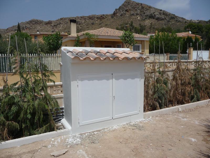 ejecución jardín diseño proyecto jardinería paisajismo san vicente alicante caseta riego