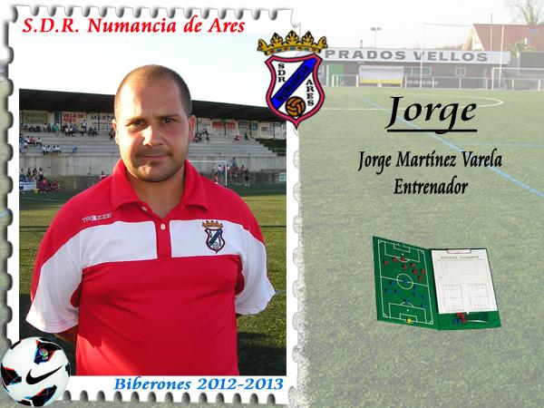 ADR Numancia de Ares. Jorge.