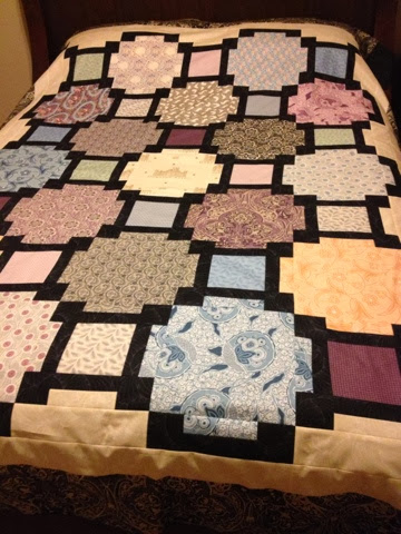 Traveling Teacher Downton Abbey Quilt