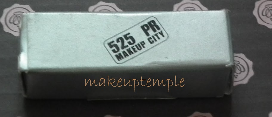 525PR Makeup City Volume Lipstick Metro Swatches