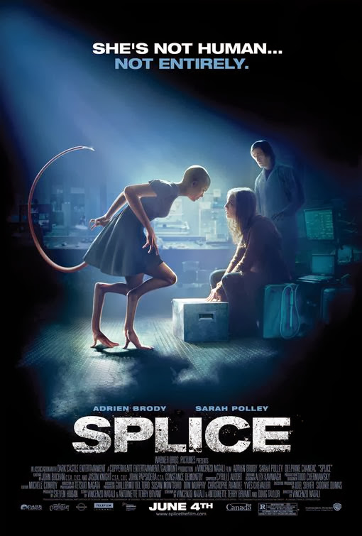 Poster Of Splice (2010) Full Movie Hindi Dubbed Free Download Watch Online At Alldownloads4u.Com