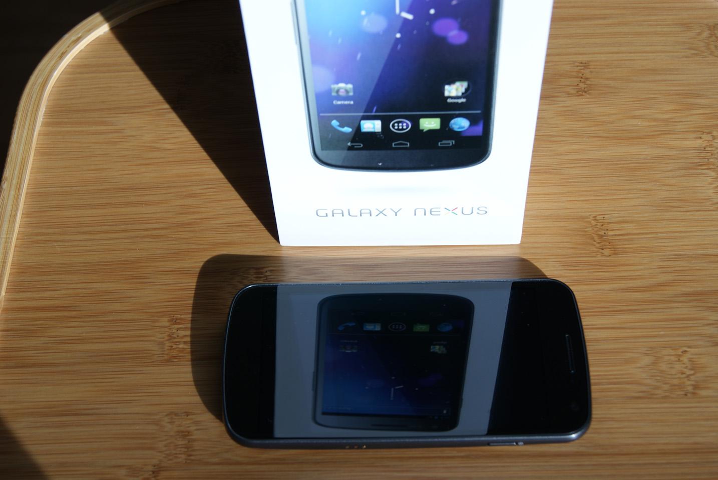 Experiencia con Galaxy Nexus