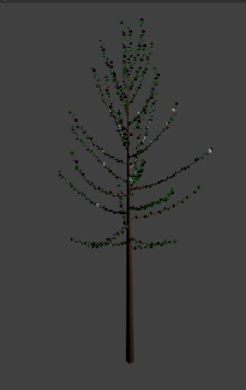 blender drzewko sapling
