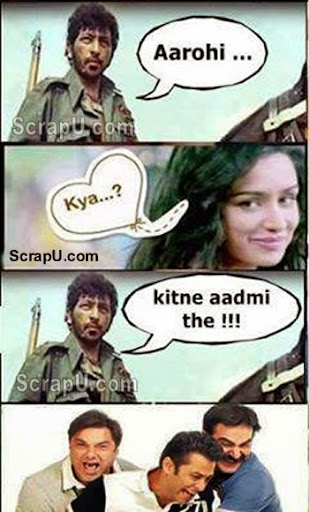 Gabbar and Arohi in Aashiqi2 - Aashiqi2-Funny-Pics pictures