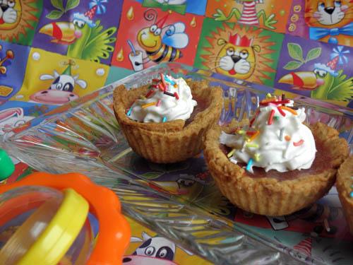 babeczki rabarbarowe na dzień dziecka