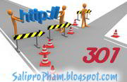 Trang redirect cho blogger, 301 Redirect page