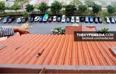 TRAGEDI Kanak Kanak Jatuh Bangunan Di Putrajaya