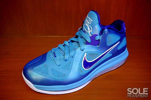 Nike LeBron 9 Low 8211 Summit Lake Hornets 8211 New Images