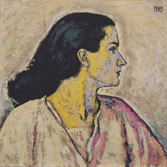 Koloman Moser - Portrait of a Woman in Profile, 1912