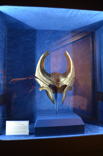 Hemidall from the Thor: Treasures of Asgard Exhibit at Disneyland #ThorDarkWorldEvent