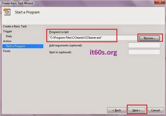 Thủ thuật cấu hình ứng dụng tự khởi động trong Windows 7 7