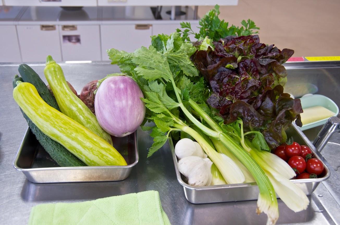 マンマのネットワークによる夏野菜のお料理