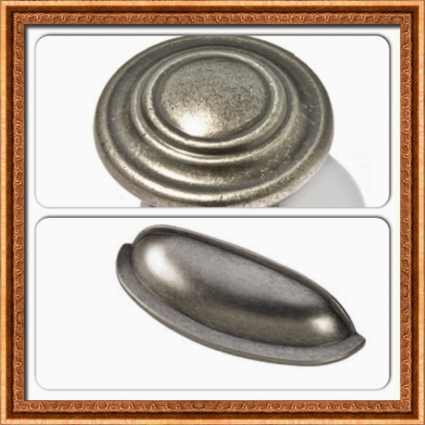 antique pewter cup pulls
