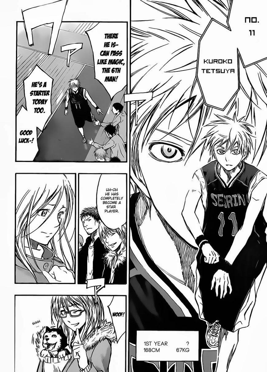 Kuroko no Basket Manga Chapter 231 - Image 09