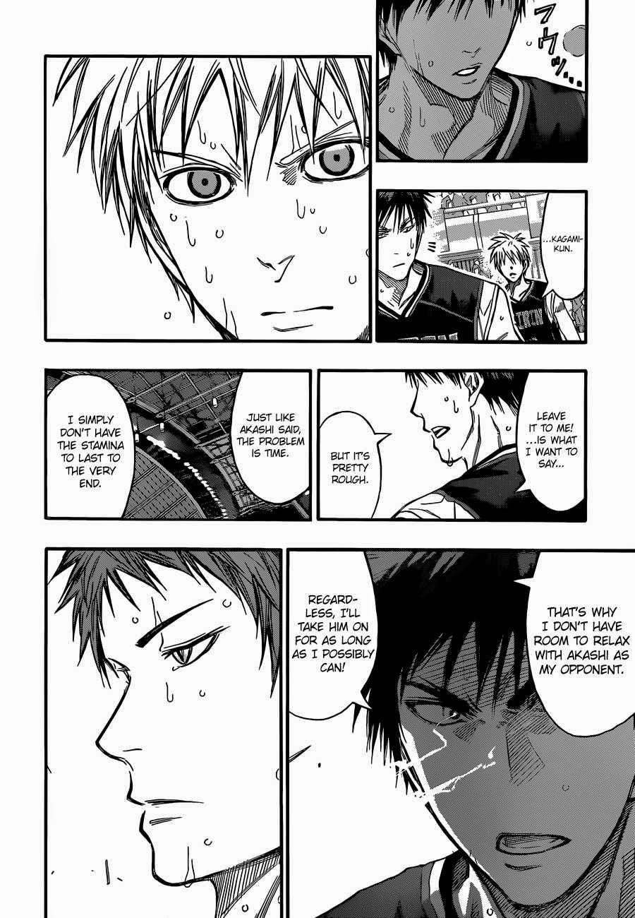 Kuroko no Basket Manga Chapter 257 - Image 14