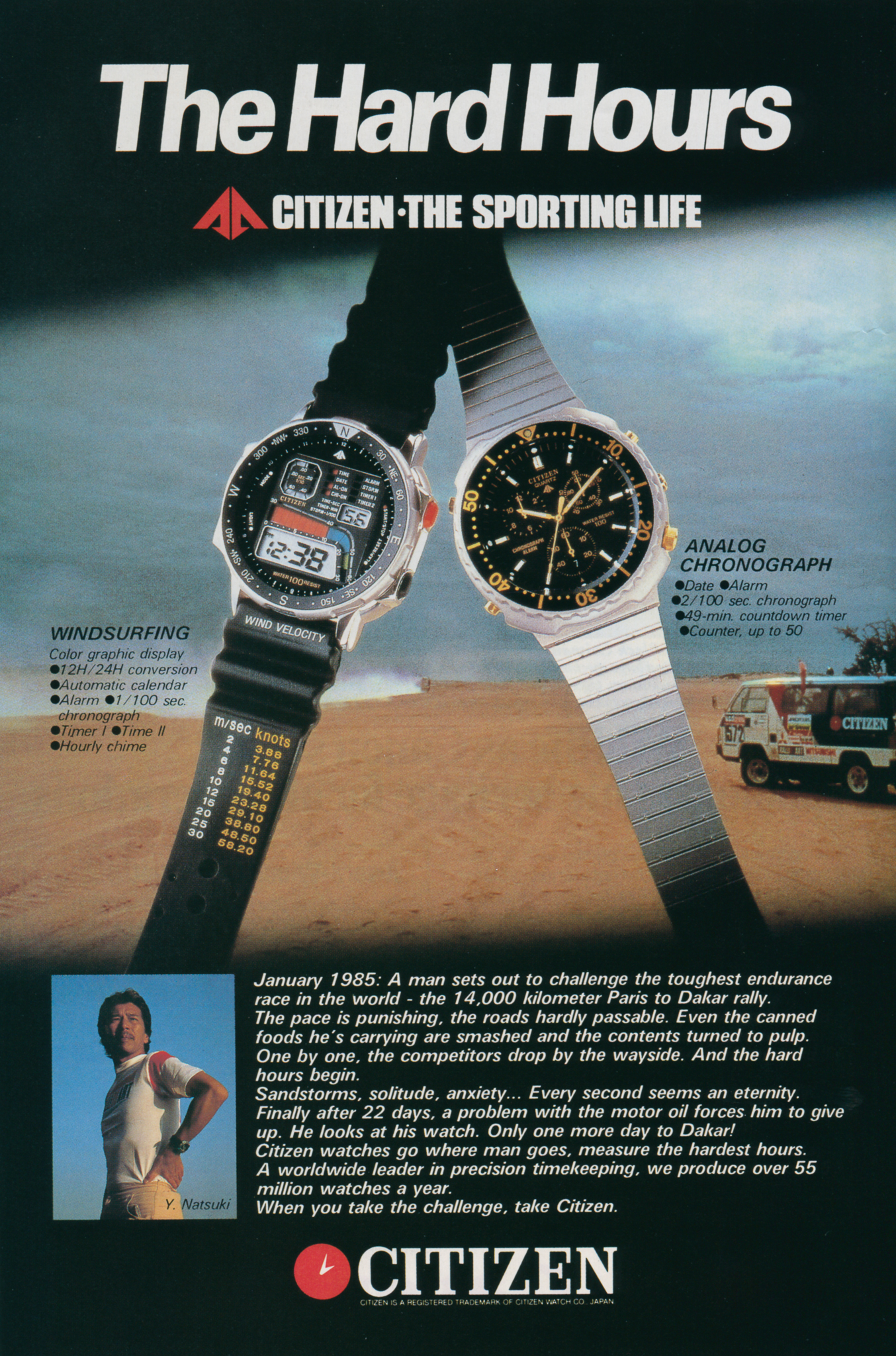 Publicidade Citizen Sports Collection - Anos 80 The%2520Hard%2520Hours