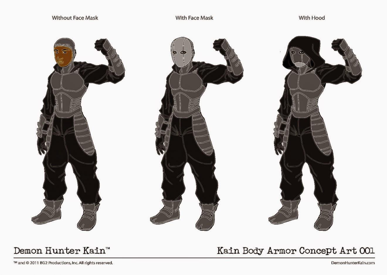 Kain Body Armor Concept Art 001