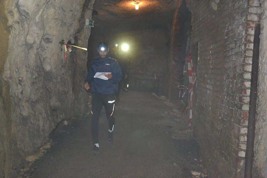 Orienteering in a cave