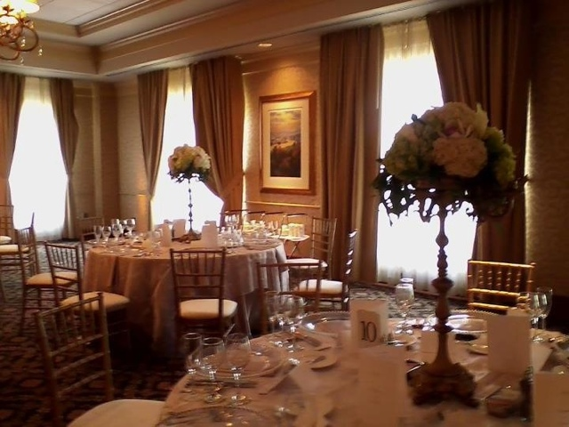 candelabra floral centerpieces