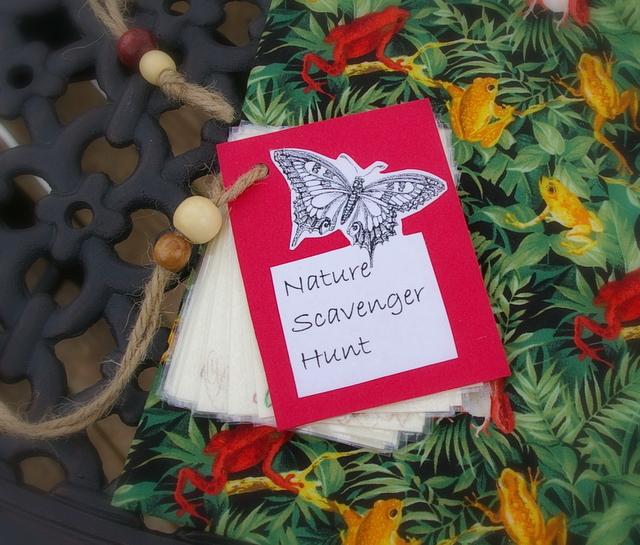 Backyard Nature Scavenger Hunt : Sun Scholars Nature Scavenger Hunt