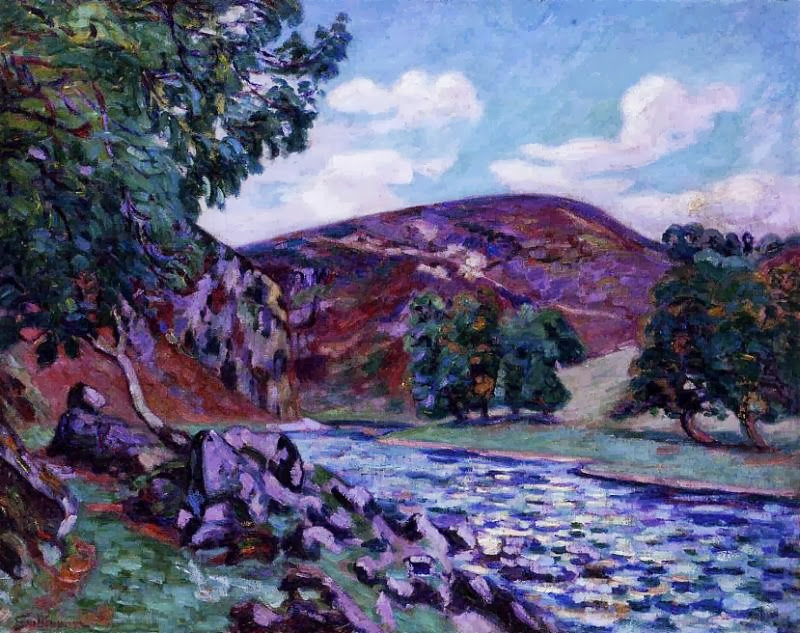 Armand Guillaumin - Crozant Landscape