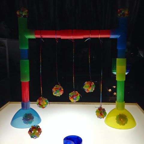 a great way to learn about motion on the light table