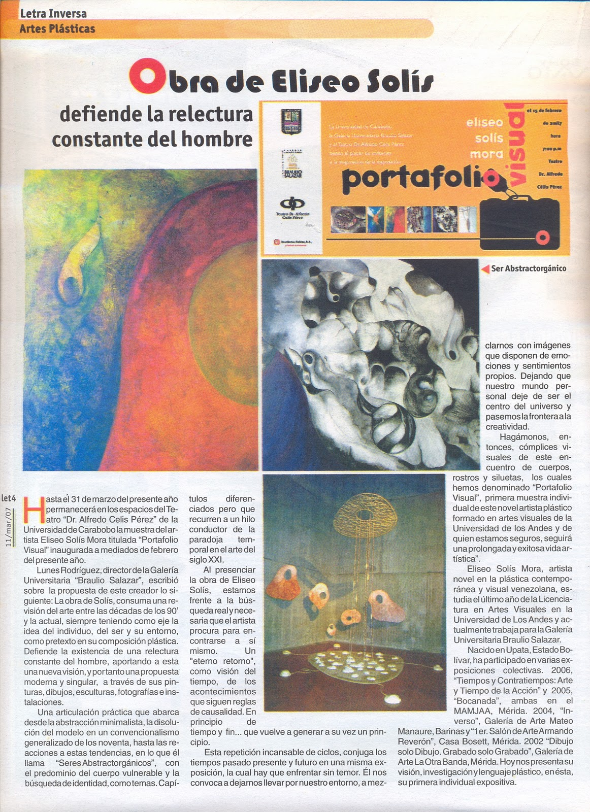 cartilla as domingo 11 marzo 2007: