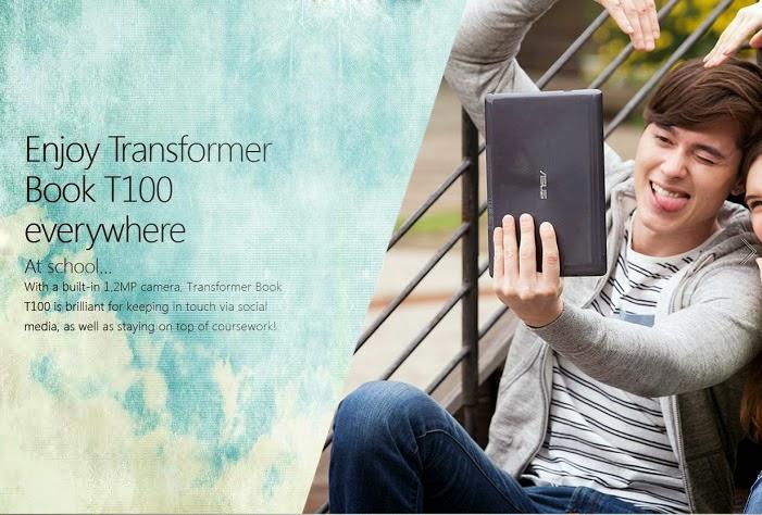 ASUS Transformer Book T100T