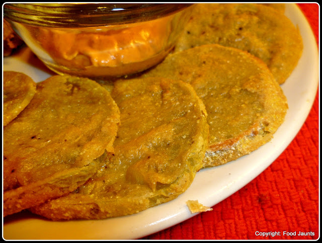 Baked - Not Fried Green Tomatoes