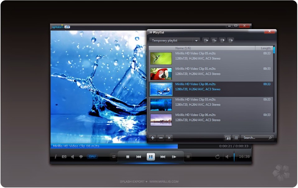 Mirillis Splash Pro EX 1.13.2.0 [Reproductor de Audio y Video HD] [Español/Multi] [Full] – [ExeFull] 9