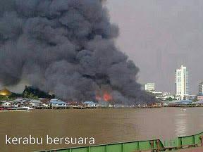 Kebakaran Rumah Atas Air Di Sibu Perbuatan Khianat?
