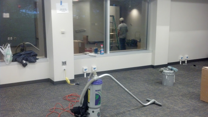 After construction cleanup from Commercial Building Maintenance LLC