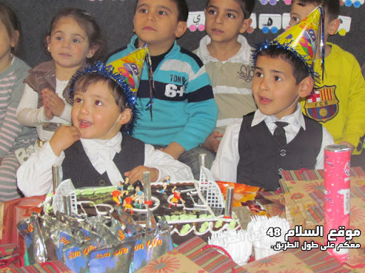 انا اسمي كريم رائد مصاروه من باقة الغربية اتعلم في روضة عدن اليوم عيد ميلادي الرابع اترككم مع الصور  IMG_5262