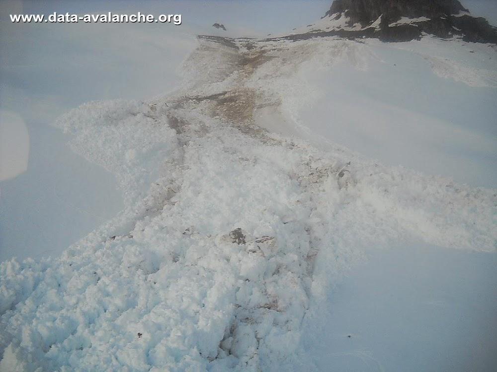 Avalanche Maurienne, secteur Cime de Lancheton, Croix du Chatelard - Photo 1