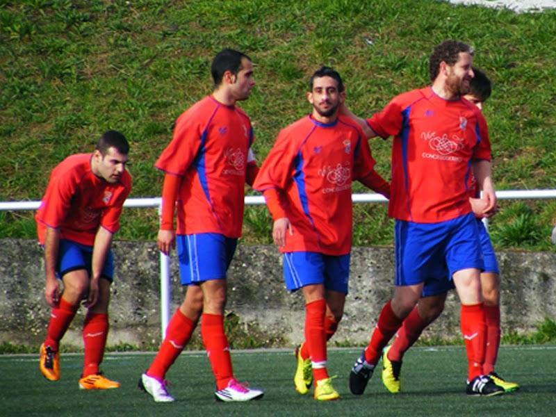 Os modestos celebrando un gol (23/02/2014)