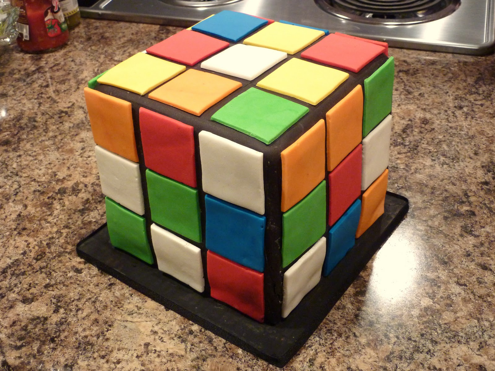 creative crumbs nashville rubik s cube birthday cake