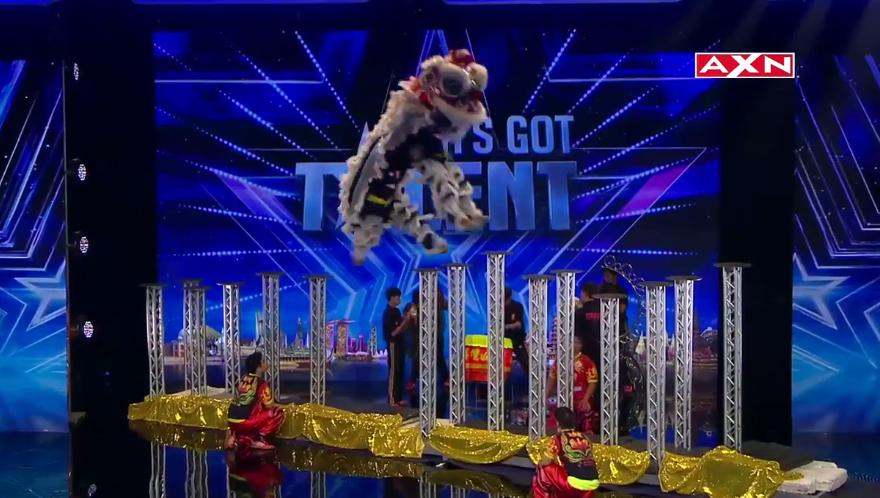KST Lion – Audition –  'Asia's Got Talent' (VIDEO)