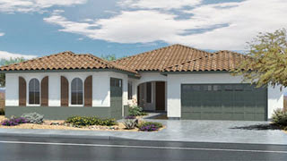Oracle floor plan in Signatures Series by Lennar Homes in Layton Lakes Gilbert AZ 85297