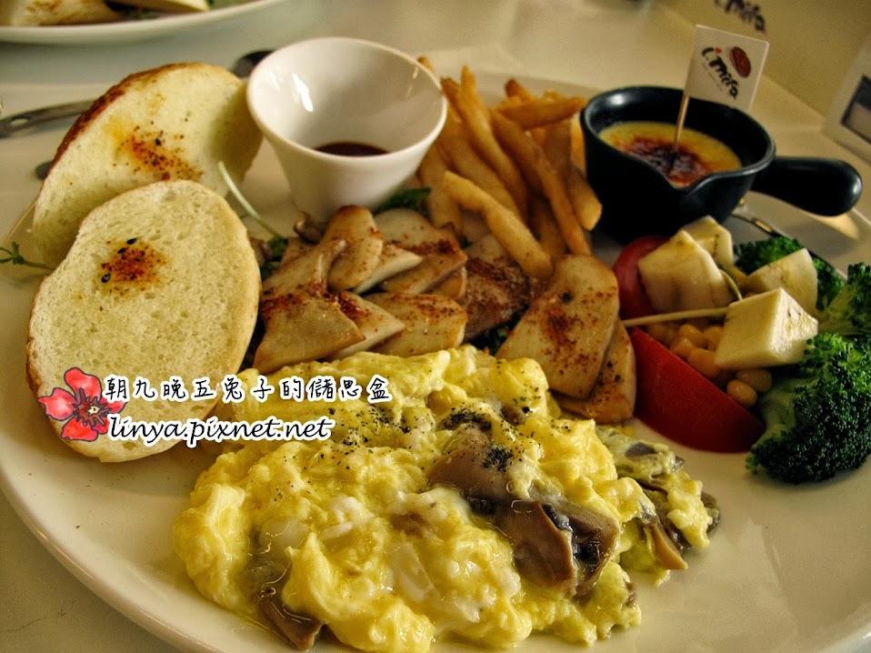 【台南】Brunch。愛米塔i.mita 早午餐、輕食。什麼?這盆栽竟然 ...