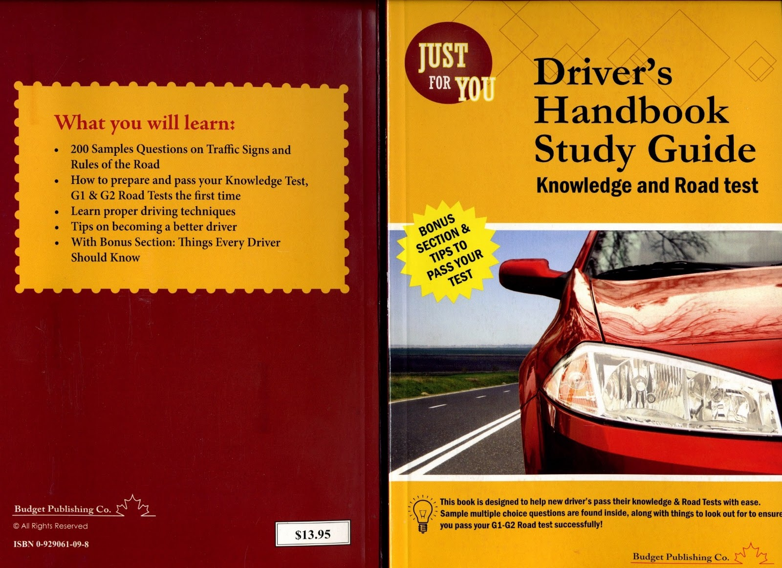Ontario Driving Test Book