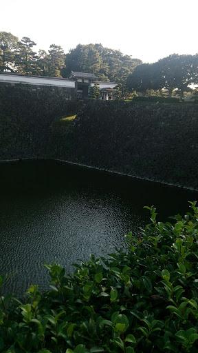 壮大な石垣
