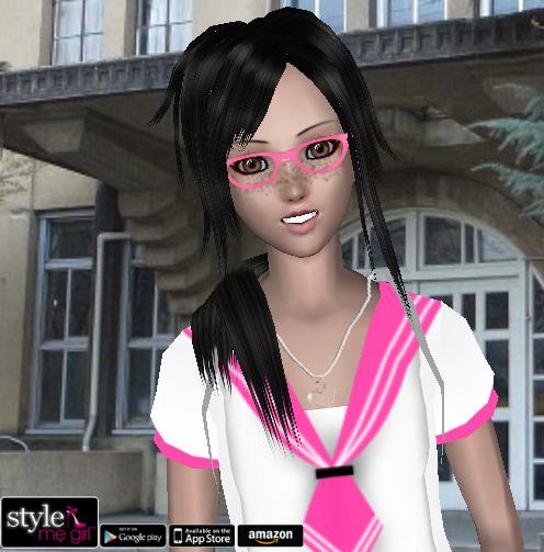 School Style me Girl Style me Girl Level 47