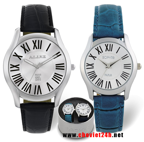 Đồng hồ đôi Sophie Paris Verrel - CPU10