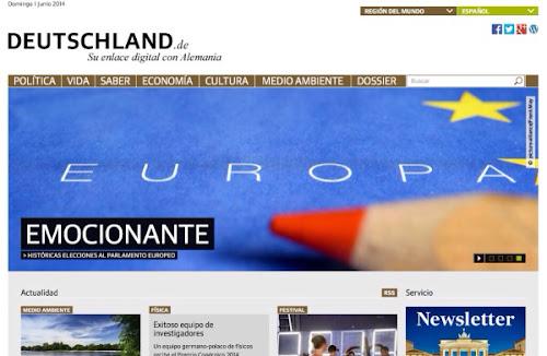 Deutschland.de, un enlace digital con Alemania