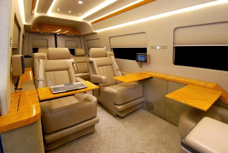 Sameera 39 s blog mercedes benz sprinter van outfitted like for Mercedes benz sprinter jetvan