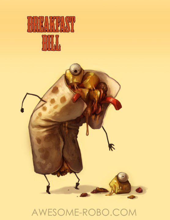 Monster Food Menu