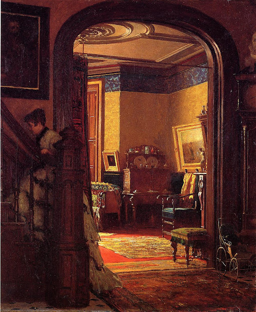 Eastman Johnson - Not at Home
